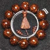 Antique Huang Hua Li Bracelet