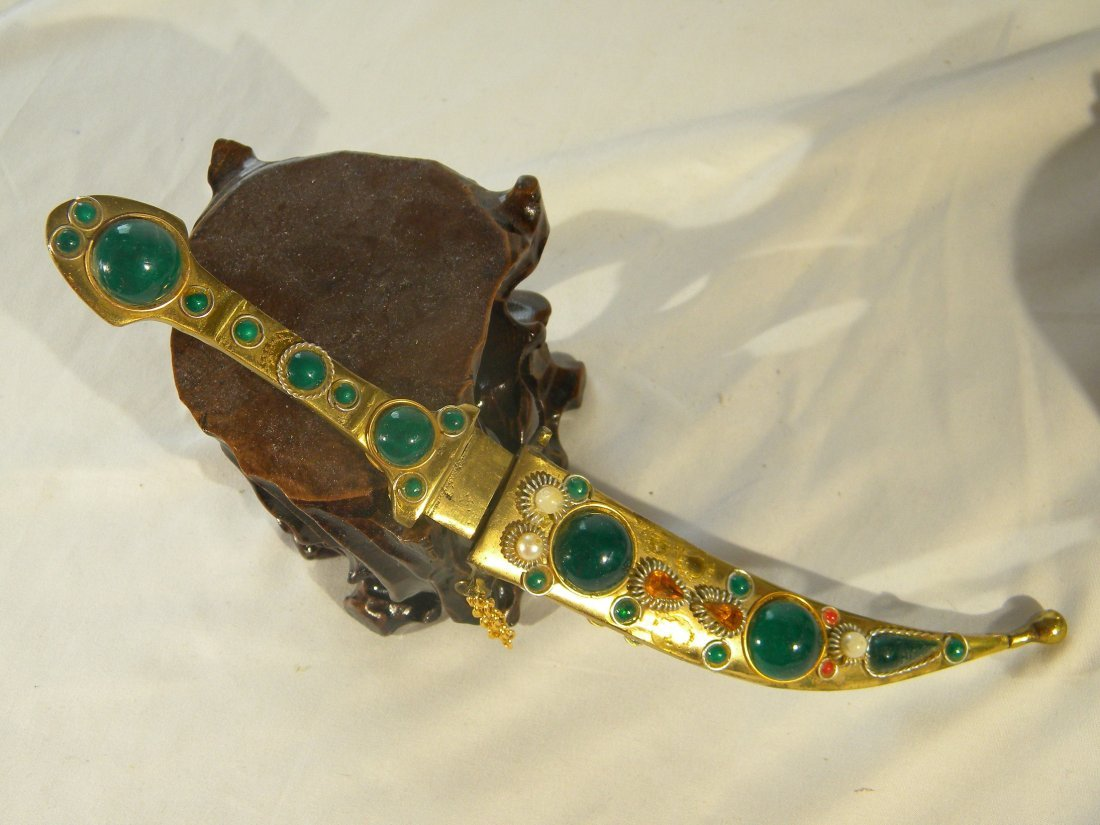 CHINESE DECORATED KNIFE
