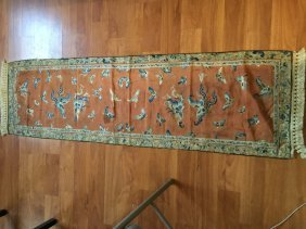 Antique Chinese Hundred Butterfly Silk Embroidery