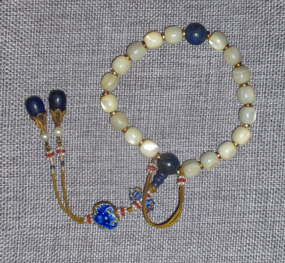 Antique Chinese Shell Bracelet