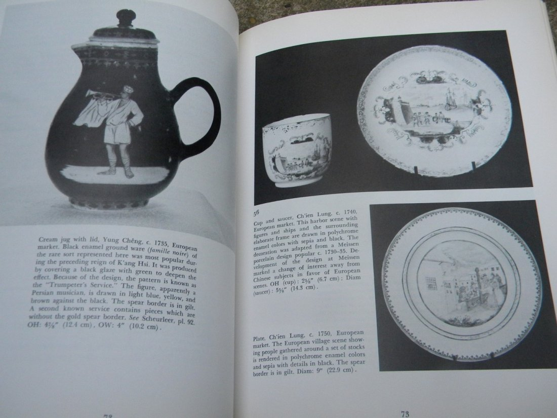 Antique Book of Collection Chinese Export Porcelain - 5
