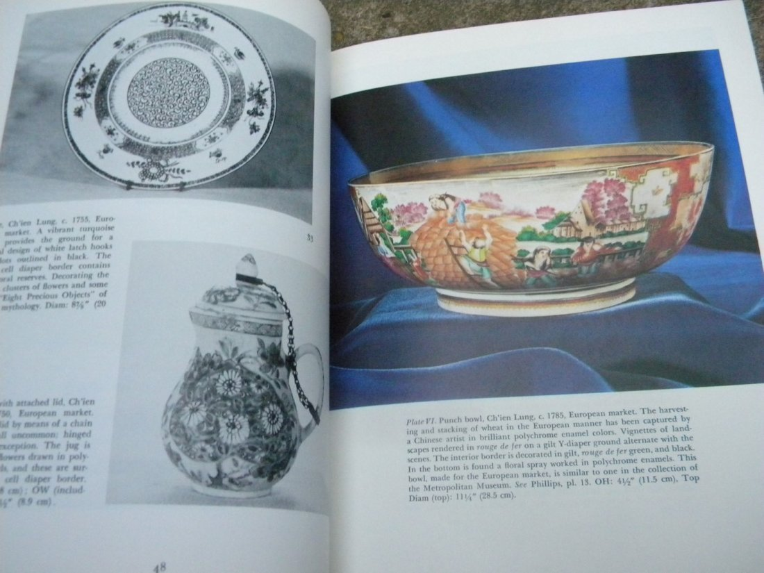 Antique Book of Collection Chinese Export Porcelain - 6