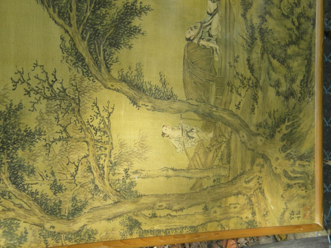 Antique Scholar Painting - 4