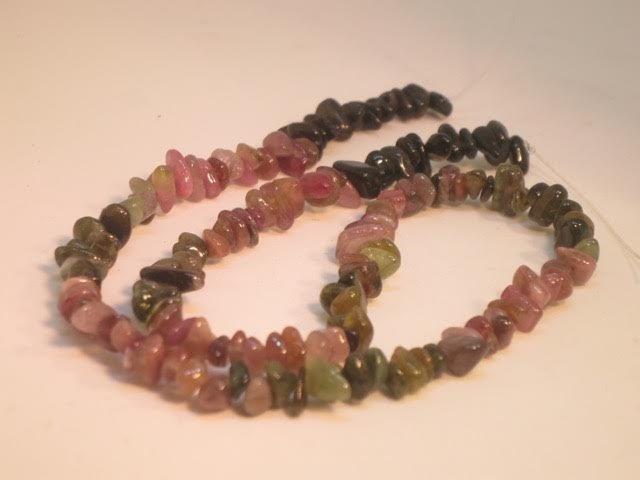 Tourmaline beads - 2