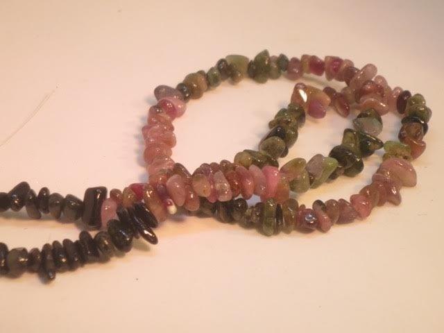 Tourmaline beads - 3