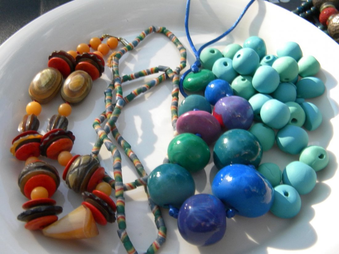 Antique African Exchange Beads and Necklaces - 2
