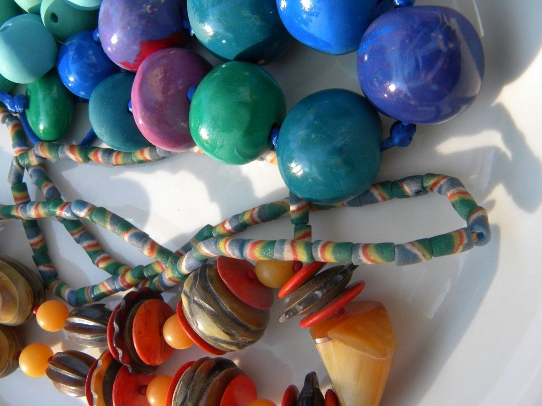 Antique African Exchange Beads and Necklaces - 3