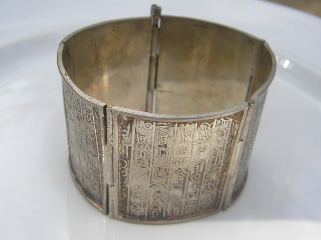 Antique Bracelet with Character