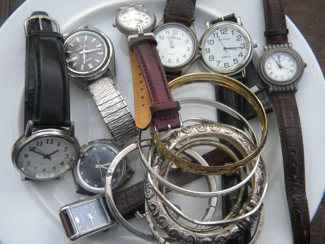 Group of Watches and Bracelets - 2