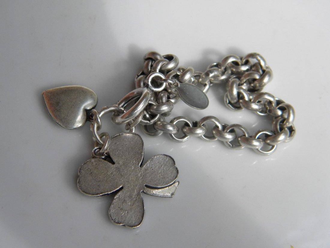 Silver Flower Bracelet - 2