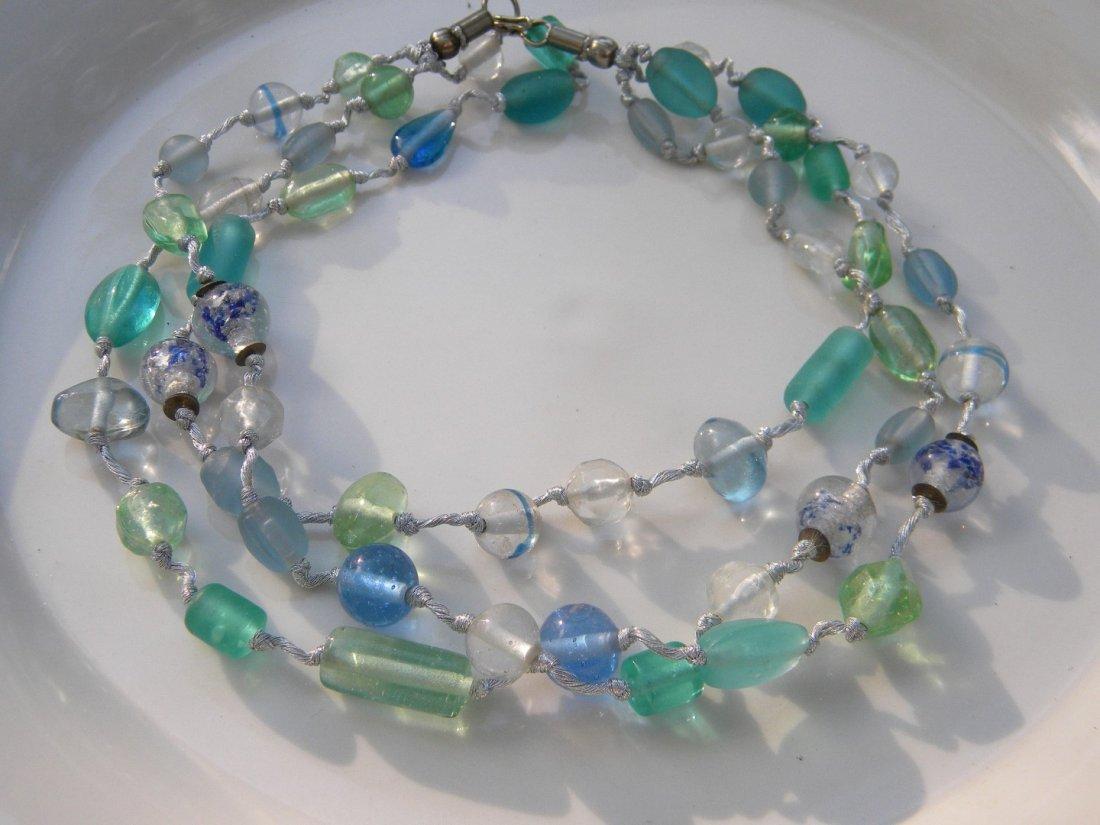 Vintage Galss Necklace