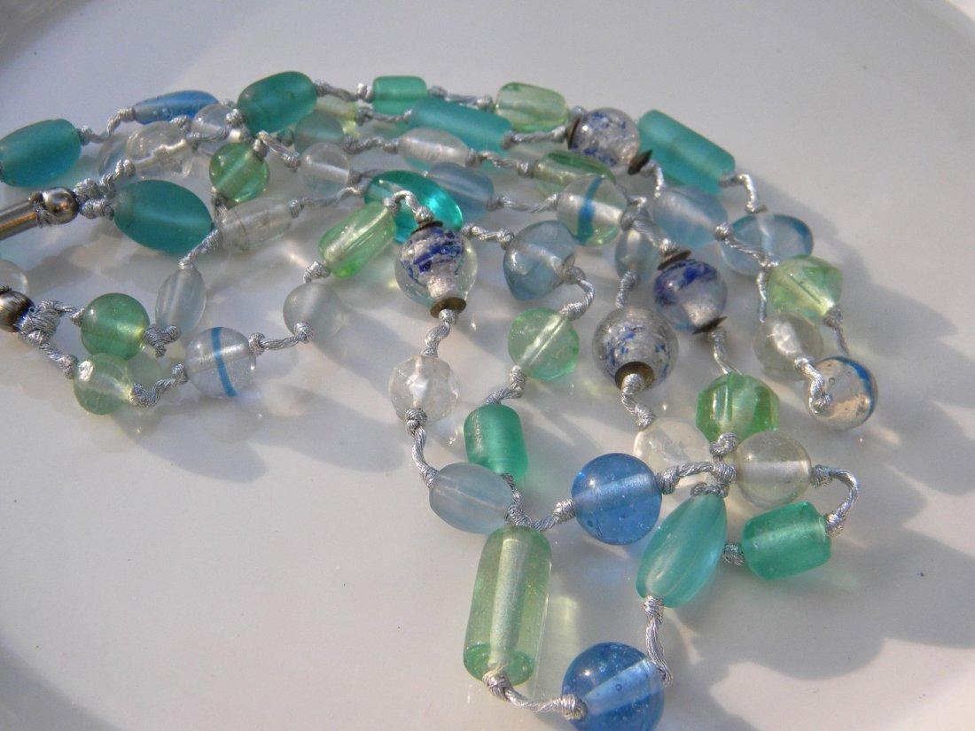 Vintage Galss Necklace - 3