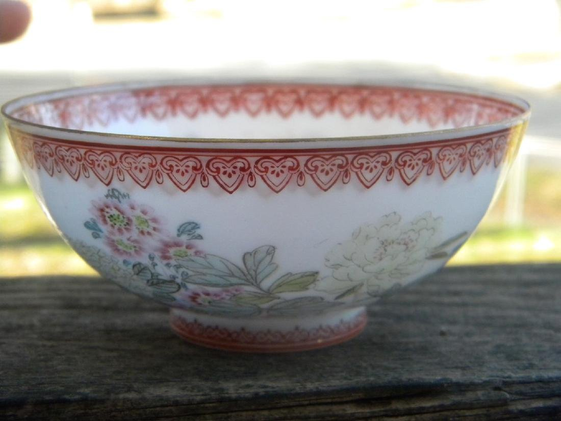 Antique Chinese Egg Shell Bowl Marked - 3
