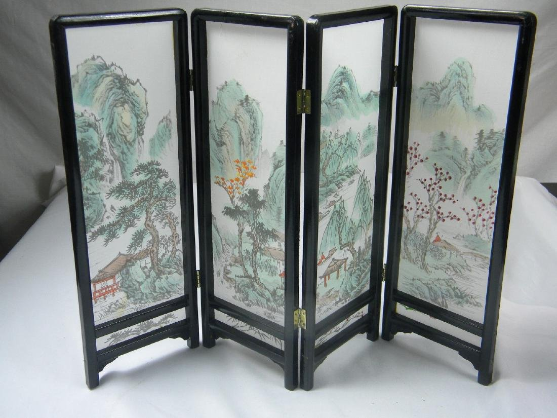 Vintage Chinese Table Screen