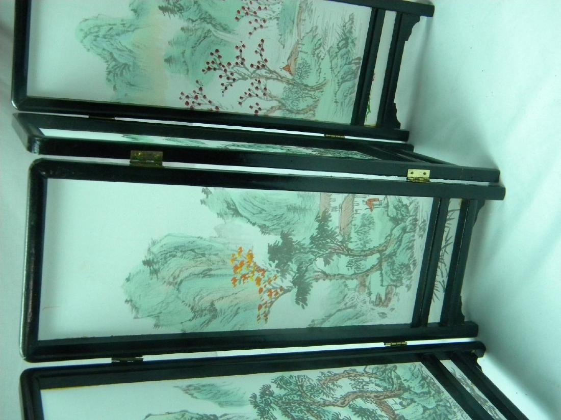 Vintage Chinese Table Screen - 2