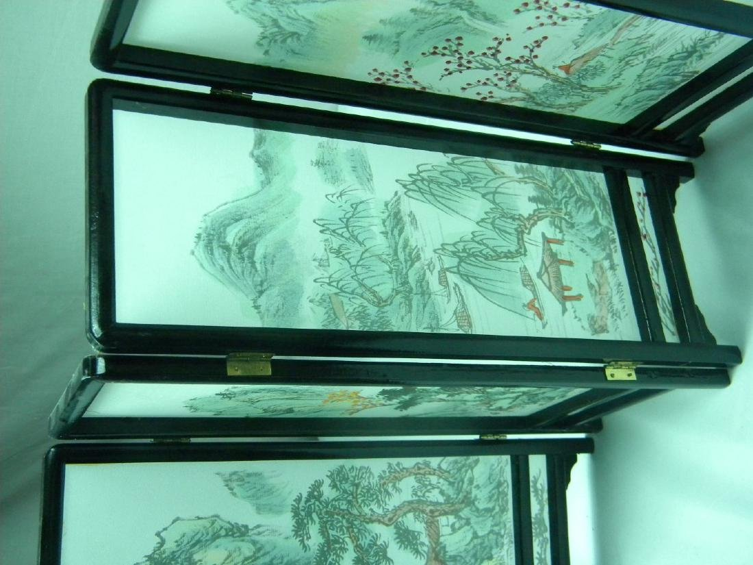 Vintage Chinese Table Screen - 3