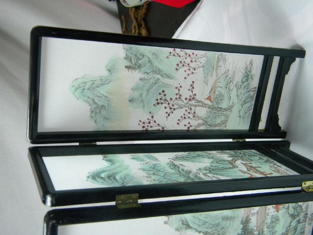 Vintage Chinese Table Screen - 4
