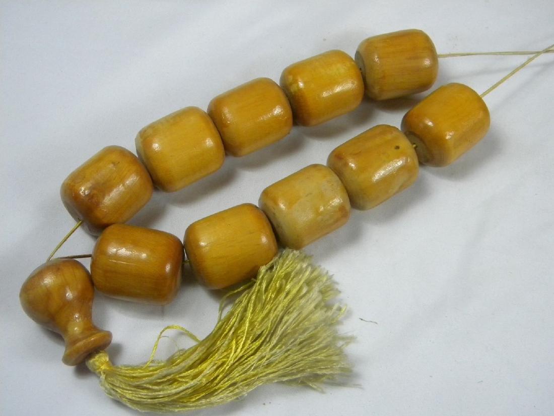 Huge Chinese Wood Prayer Beads