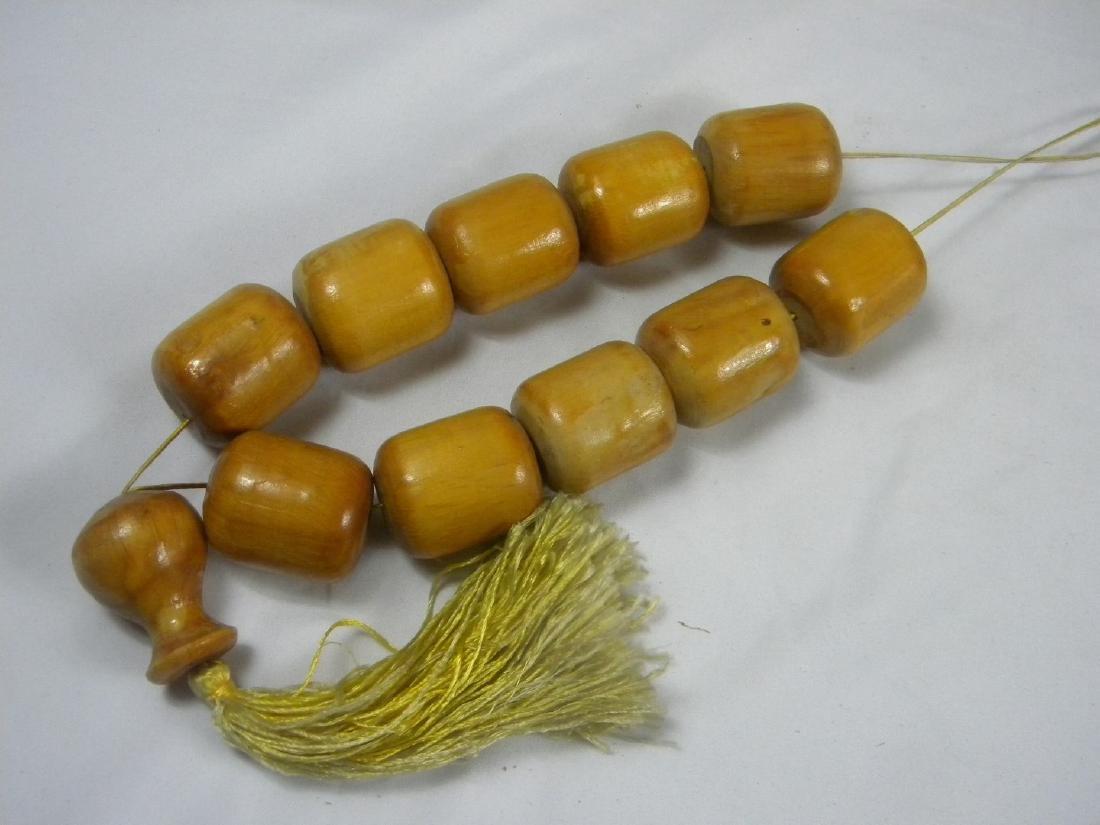 Huge Chinese Wood Prayer Beads - 3