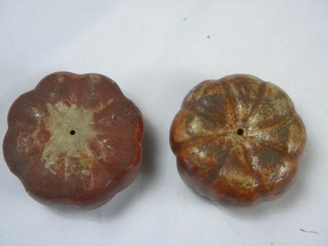 Pair of Antique Chinese Porcelain Pumpins - 4