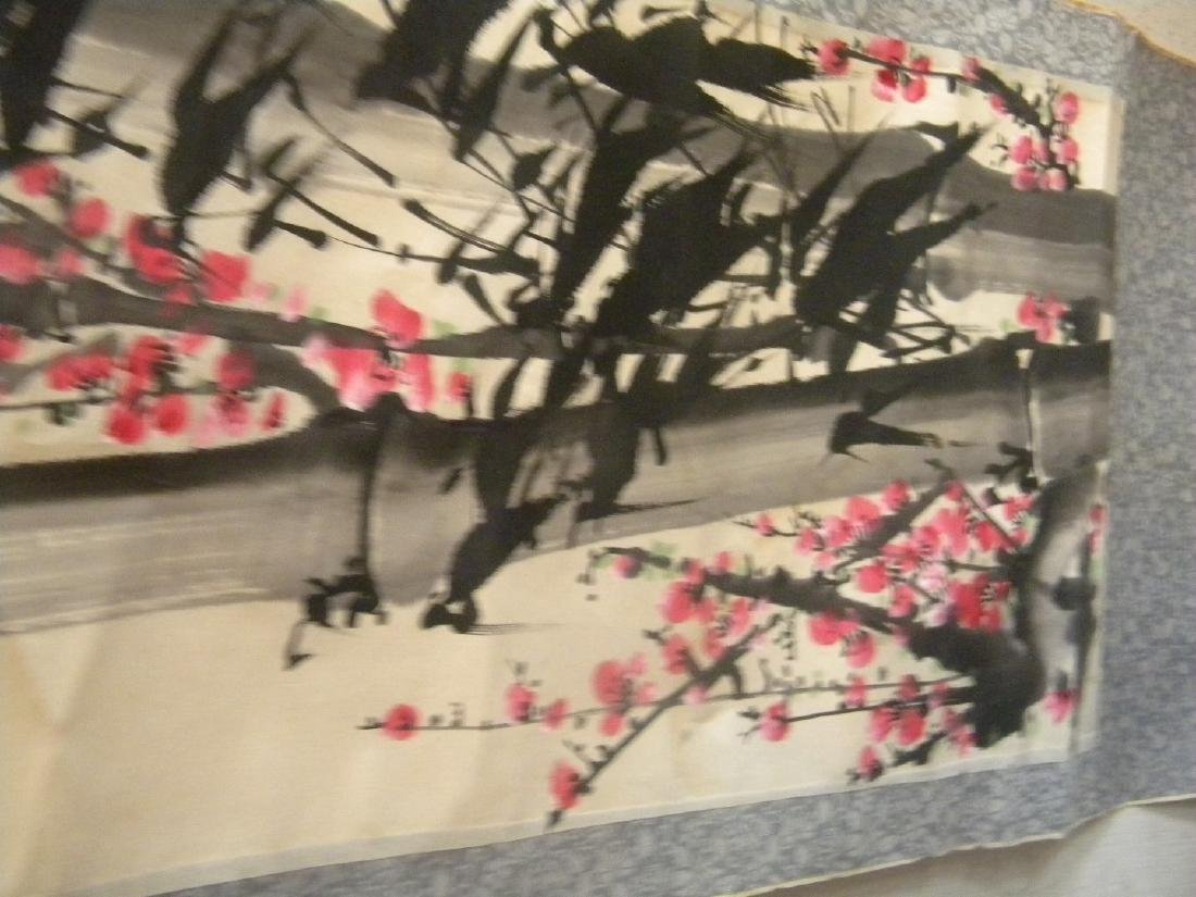 Vintage Chinese Painting of Bamboo and Flower - 7