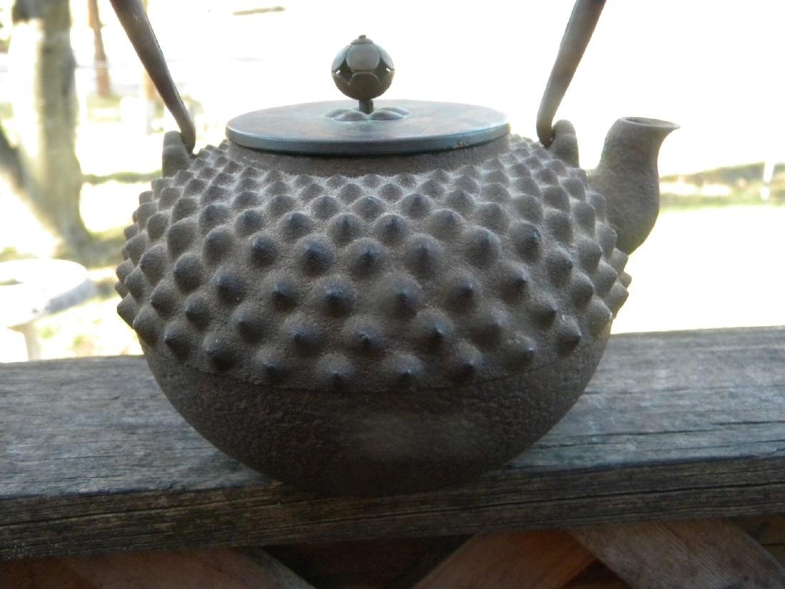 Antique Japanese Iron Teapot 18th C.