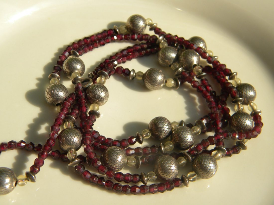 Vintage Bead Necklace - 3