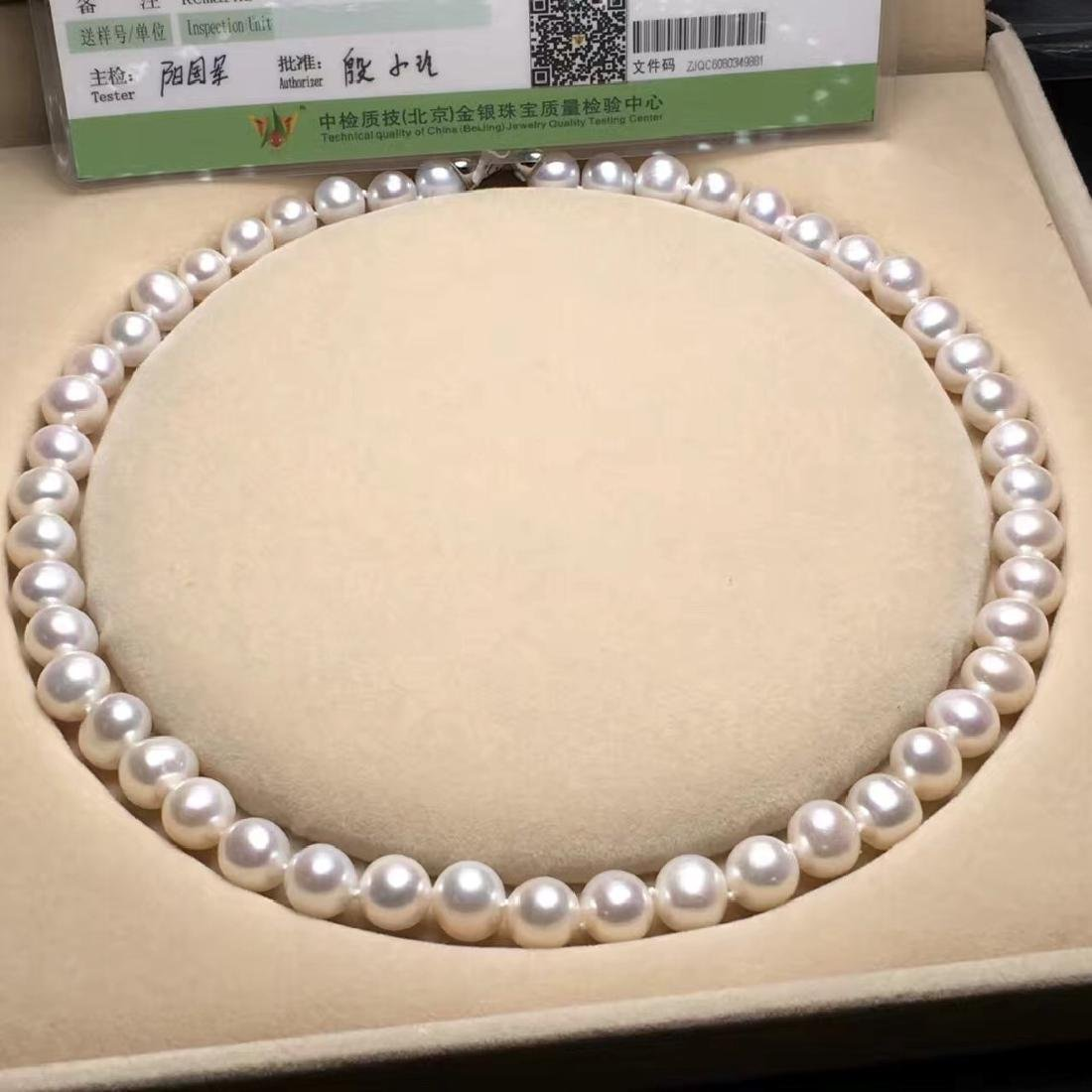 Natural Pearl with Certificate in Original Box