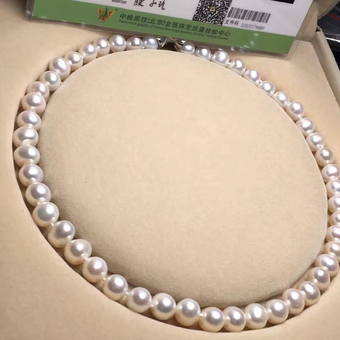 Natural Pearl with Certificate in Original Box - 2