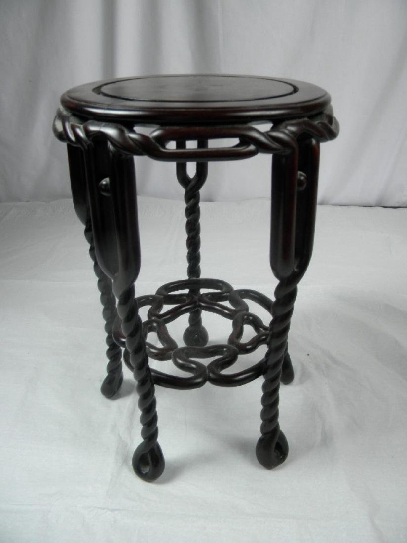 Antique Chinese Rosewood Stool
