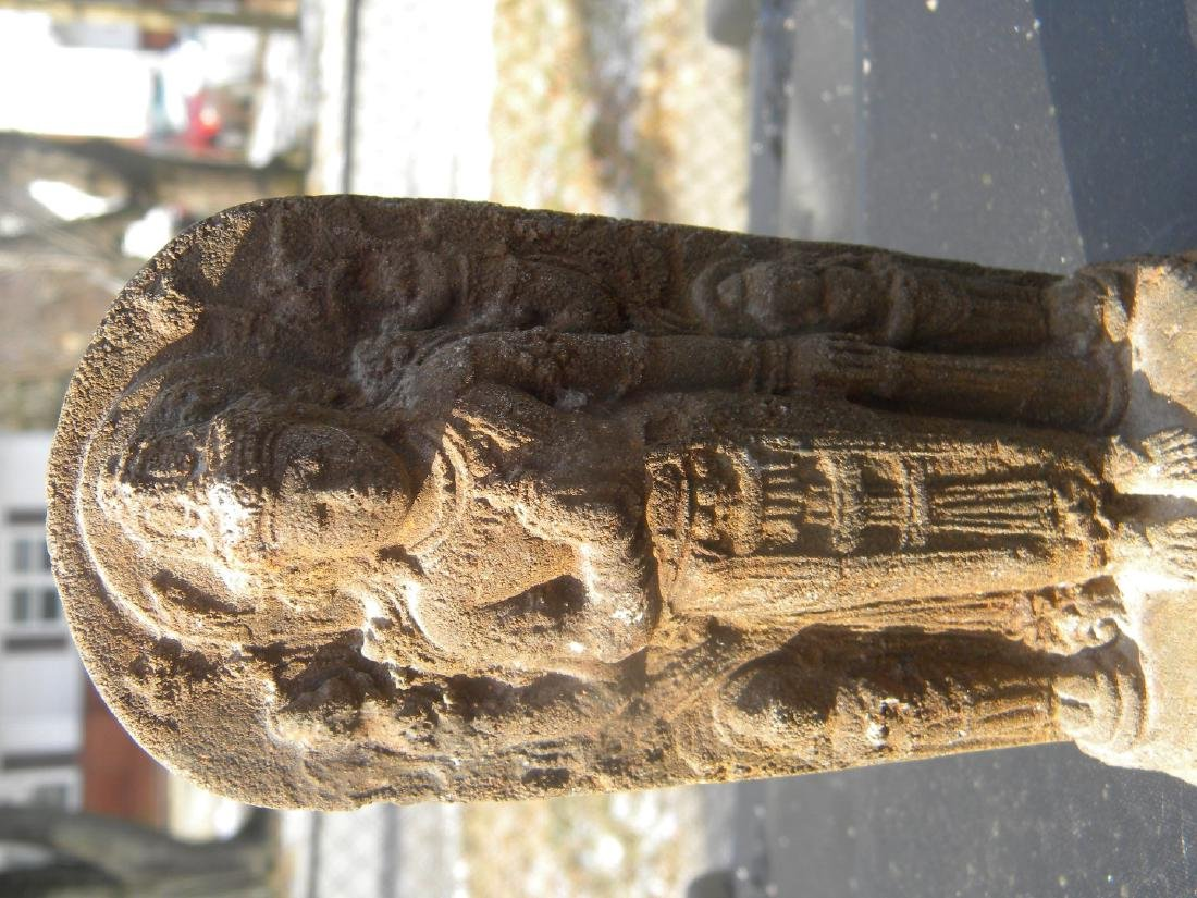 Antique Stone Buddha Statue - 2