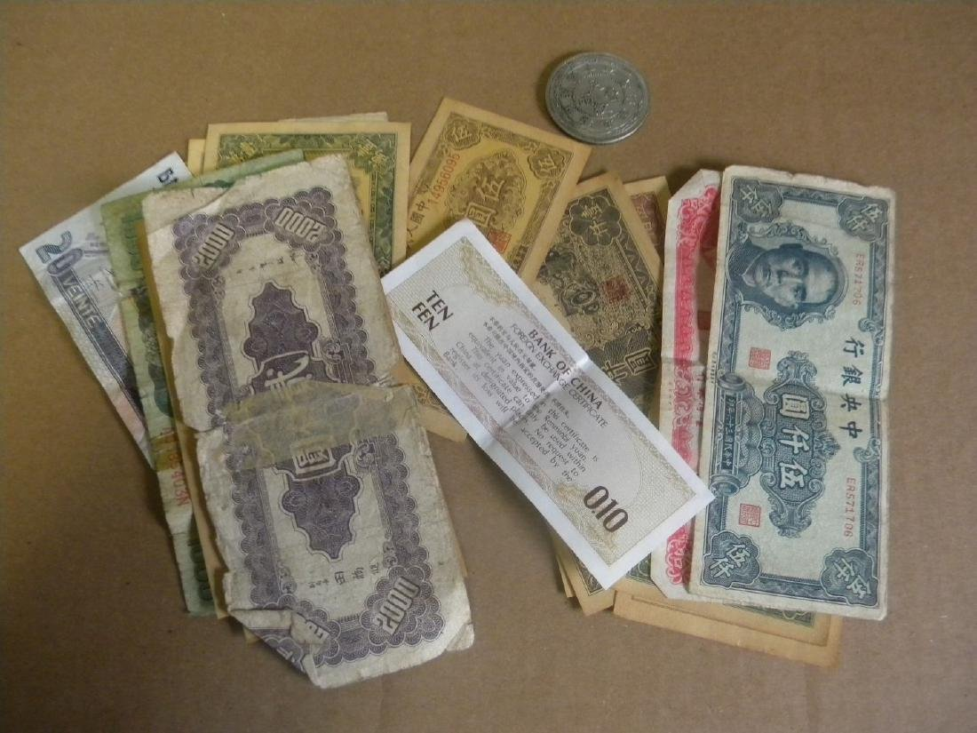 Group of Chinese Money and Coins - 2