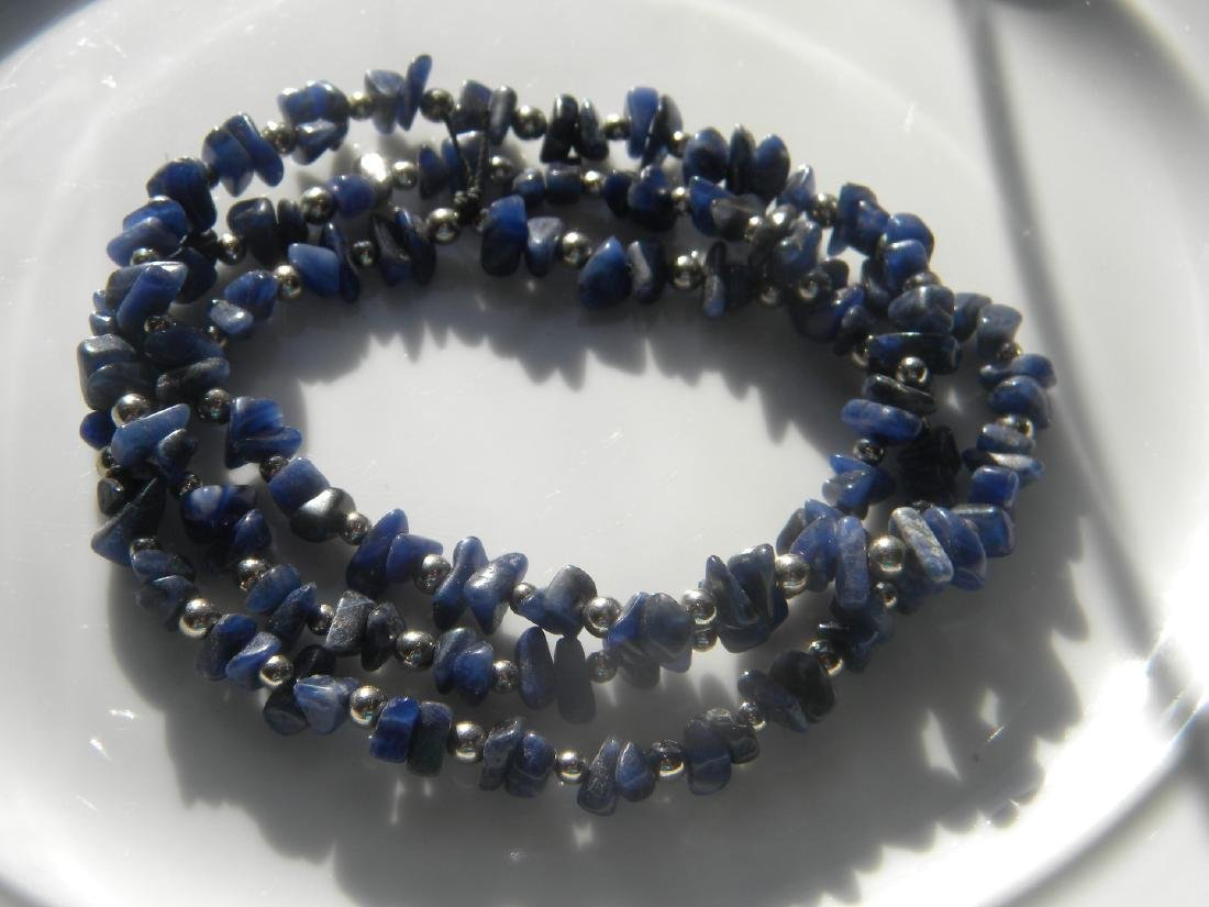 Antique Lapis Necklace - 3