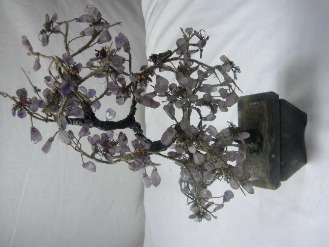 Antique Chinese Amethyst Flower Planter - 2
