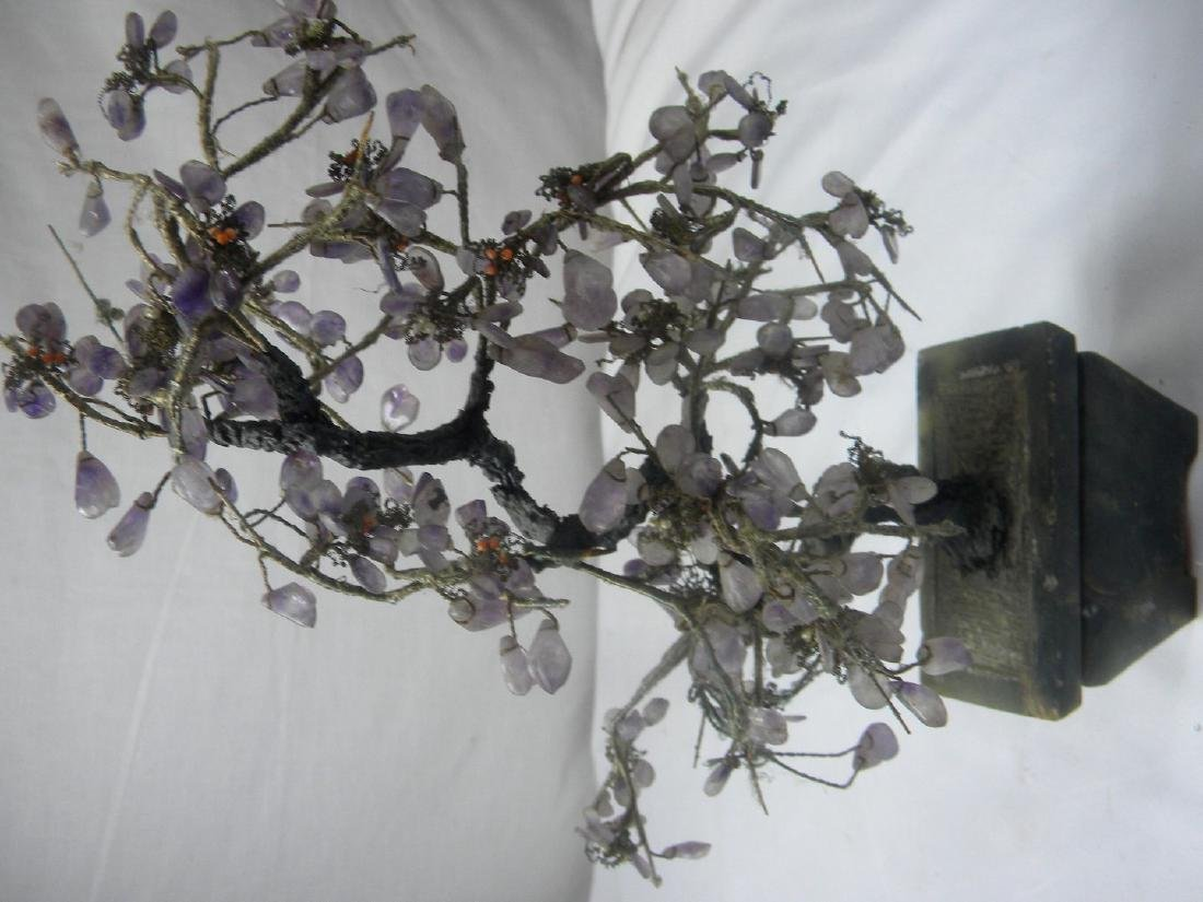 Antique Chinese Amethyst Flower Planter - 3