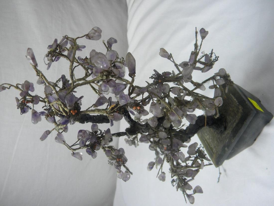 Antique Chinese Amethyst Flower Planter - 4