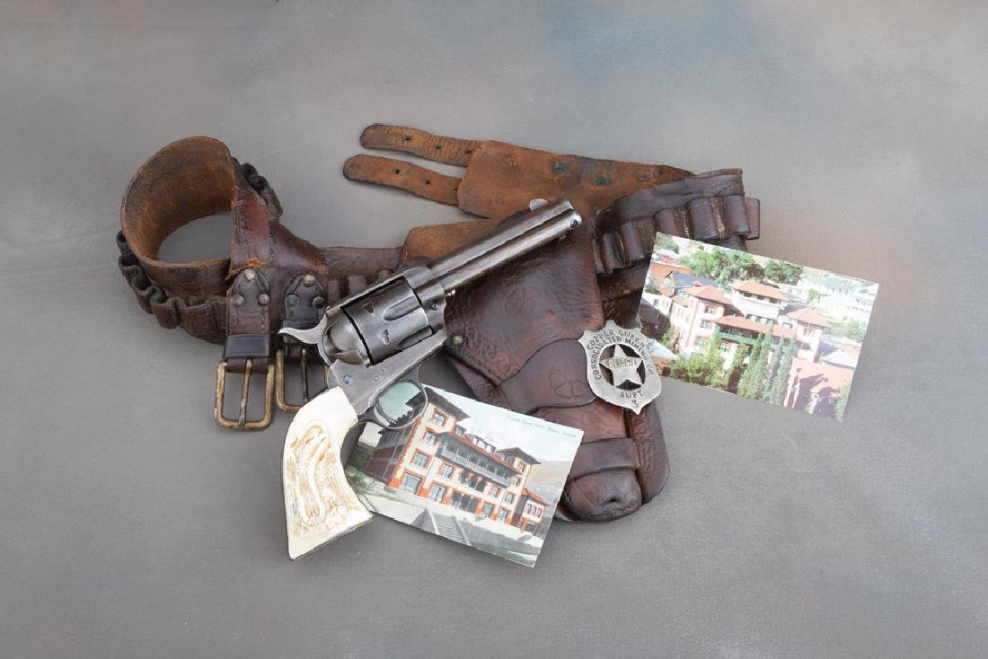 An historical Arizona Territory shipped Colt SAA