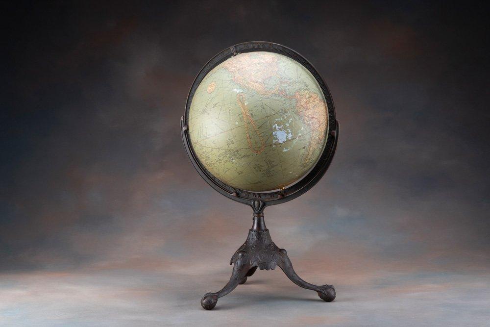 Scarce, early antique Terrestrial Globe, circa 1912,