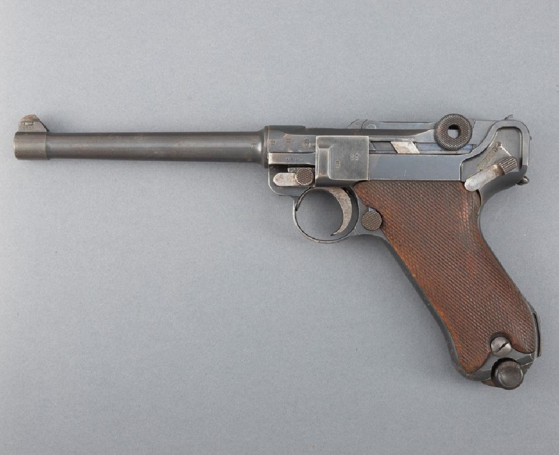 1917 DWM, Imperial Navy Luger, Model P08, 9 MM PARA