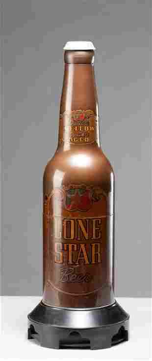 Rare Bakelite AM Radio advertising Lone Star Beer, with