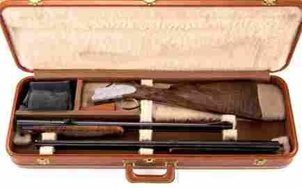 """Browning Belgium"" marked two barrel"