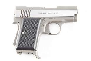 AMT, semi-automatic Pistol, Back Up Model, .380-9 MMK,