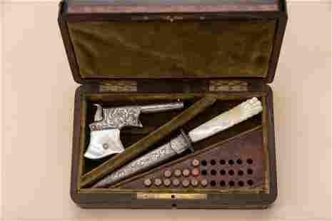 Extremely rare antique cased Remington, Vest Pocket