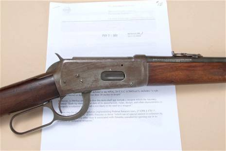 "Very desirable Winchester, Model 94, 15 1/16"" barrel,"