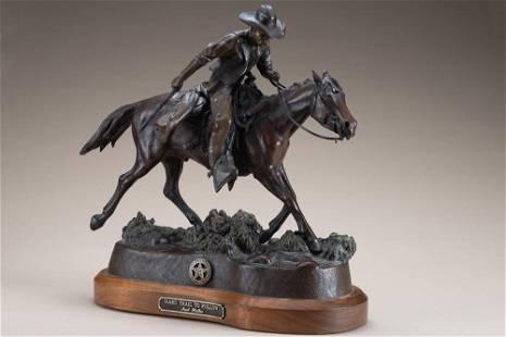 Awesome original Bronze Sculpture by Texas Artist Jack