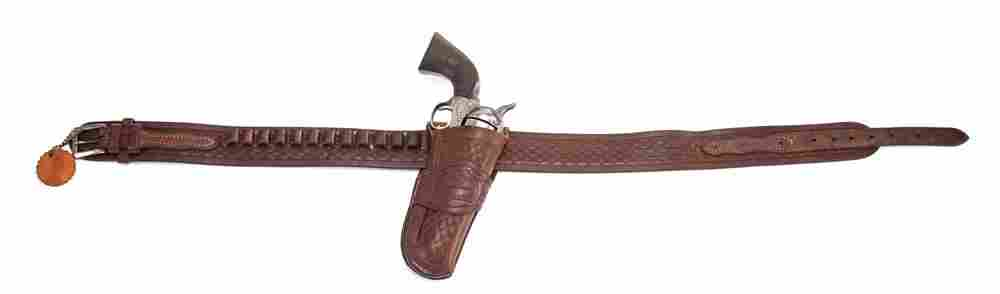Very desirable King Ranch, leather Gun Rig, marked