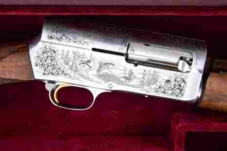 Beautiful engraved Belgium Browning, Auto 5, Automatic