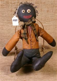 Canvas and Sawdust Filled Doll, 15`` tall.