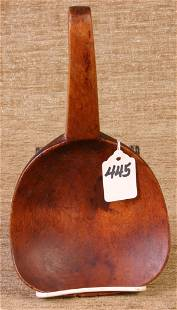 Wide Mouth Handmade Wooden Scoop.