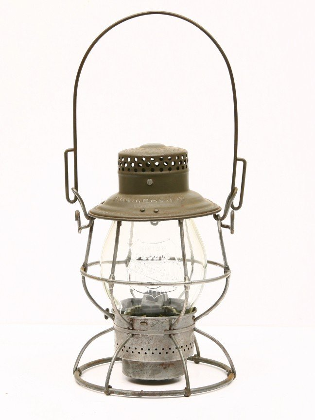 10: ADAMS & WEST LAKE CO. lantern w/ embossed UNION PAC